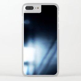 3407 Voyeur (mono) Clear iPhone Case