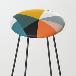 Modern Geometric 36 Counter Stool