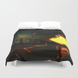 Something About Adwelle Duvet Cover