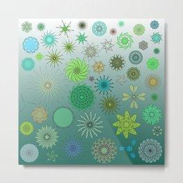 Plankton Metal Print