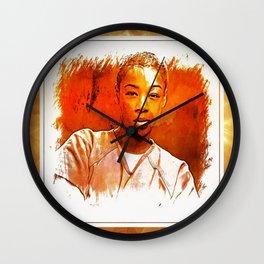 Poussey Wall Clock