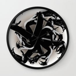 Claws Attack  Wall Clock