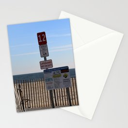 Beach Closed Stationery Cards