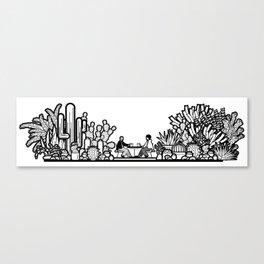 Chai and Cacti II Canvas Print