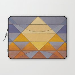 Pyramid Sun Mauve Purple Laptop Sleeve