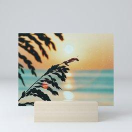 OBX sunrise Mini Art Print