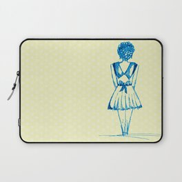 blue girl Laptop Sleeve