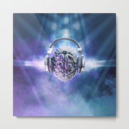 Cognitive Discology Metal Print