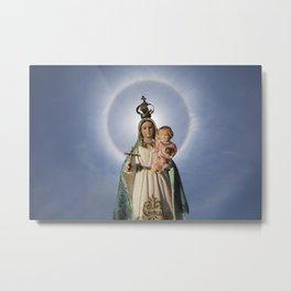 Virgen de la Caridad Metal Print