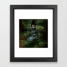 Chinese shade Framed Art Print