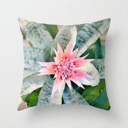 Floral 37 #flower #bold #texture Throw Pillow