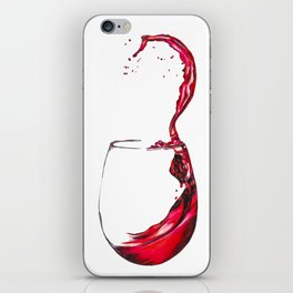 Wine Glass iPhone Skin
