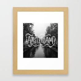Amsterdam Haze Framed Art Print