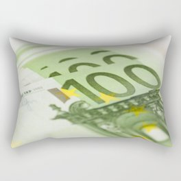 100 euro banknotes Rectangular Pillow