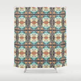 And The Beat Goes On Shower Curtain