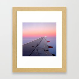 """""""You are now free to move about the cabin."""" Framed Art Print"""
