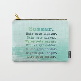SUMMER by Monika Strigel Carry-All Pouch