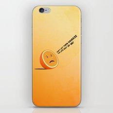 Orange Juice iPhone & iPod Skin
