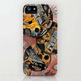 Basalt Mineral Microscope iPhone Case