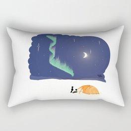 Aurora Hike Rectangular Pillow