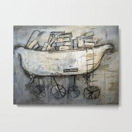 bathtub-transport Metal Print
