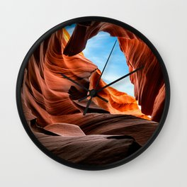 Cave of Enlightenment Wall Clock