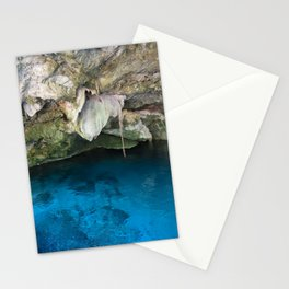 Dos Ojos Cave Cenote Mexico Mayan Jungle Nature Reserva Reserve Travel Latin America Stationery Cards