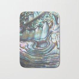 Shimmery Pastel Abalone Shell Bath Mat