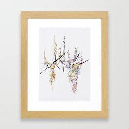 SMOKE&GLASS Framed Art Print