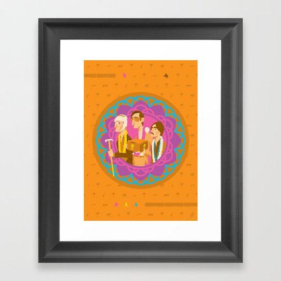 The Darjeerling Limited Framed Art Print