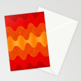 Retro Curves Hot Stuff Stationery Cards