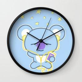 Kawaii Koala Wall Clock