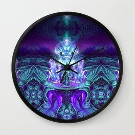 Expanding horizons - Visionary - Fractal - Manafold Art Wall Clock