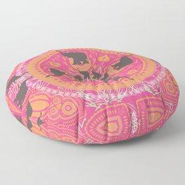Elephant Family Floor Pillow
