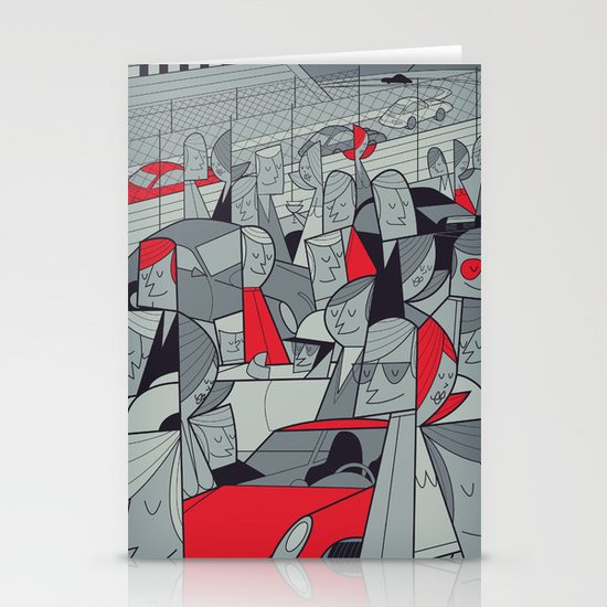 Porsche Racing Stationery Cards