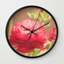 Evanescent Beauty Wall Clock