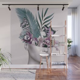 Tropical Girl 3 Wall Mural