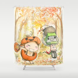 Trick o' Treat 2014 Shower Curtain