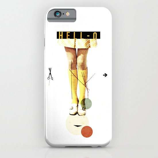Cut The (...) | Collage iPhone & iPod Case