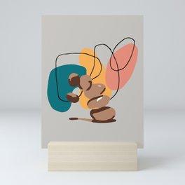 Printable Balancing Stones Wall Art Downloadable Minimalist Print Scandinavian Poster Mini Art Print