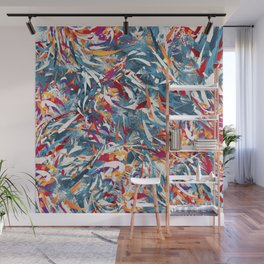 Excited Colours Wall Mural