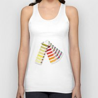 pantone Tank Tops featuring PANTONE by VincenzoRusso