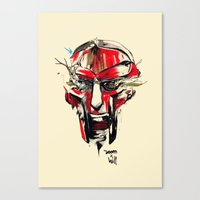 doom Canvas Prints featuring DOOM by chuma hill