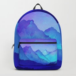 Cerulean Blue Mountains Backpack