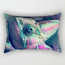 chameleon #chameleon #animals Rectangular Pillow