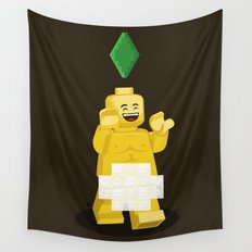 I want to brick free ! Wall Tapestry