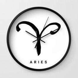 KIROVAIR ASTROLOGICAL SIGNS ARIES #astrology #kirovair #symbol #minimalism #home #decor Wall Clock