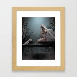 Abiit Ad Maiores Framed Art Print