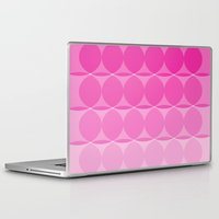ombre Laptop & iPad Skins featuring Ombre by TypeArtist
