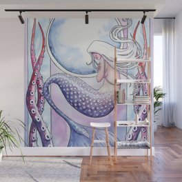 Deep Sea Mermaid Wall Mural